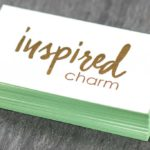 Business Cards with Stamped Foil