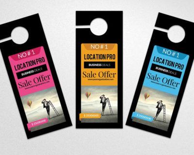 Gloss Cover Door Hangers | Printing Brooklyn